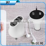 wholesale mini usb wall charger universal travel adapter with usb charger with 4 usb port(T4)