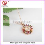 wholesale antique necklace antique necklace jewelry colorful zircon necklace antique necklace