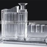 Crystal factory directly sale K9 crystal material Crystal building model for wedding and business gift