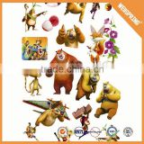 High quality pretty custom cartoon 3d bubble foam puffy sticker                                                                         Quality Choice
