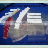 transparent opp plastic poly bag with header card                                                                         Quality Choice