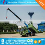 New Design New Arrival Famous Brand Dongfeng Forland Foton crane tipper truck cheap price for sale