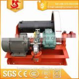 2t wire rope 12v electric winch motor for cable pulling