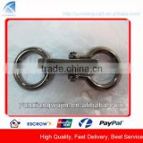 CD8514 Custom Alloy Made Bags Hook Buckles with Ring