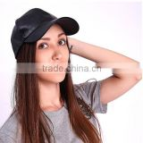 Black PU leather hat , embroidery designs snapback , customer design snapback cap snapback cap