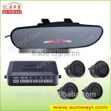 High quality Car Accessory of Rearview Mirror Parking Sensors Alarm System for Driver Security