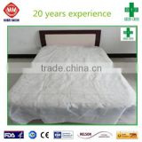 eco-friendly disposable CPE+PP bed sheet, the Most Comfortable Disposable Bed Sheet for Hospital Use of Low Price