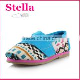 fashion girls' brand custom air cushion rubber baby leather kid shoe