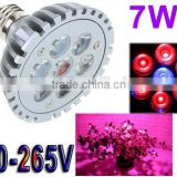 7W E27 LED Bulb Grow Lamp Red Blue LED Plant Lamp Grow Light Bulbs For Garden Greenhouse
