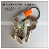 Colorful flat noodle 9cm mini magnetic keychains micro usb data cable for Android                                                                         Quality Choice