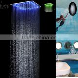 20 inch temperature conctrol led color rain spa shower head luxury bathroom accessories water screen shower bath