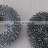 2015 hot sell crimped wire mesh stainless steel cleaning ball