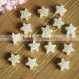 star light factory new arrival big size fancy star shaped loose imitation Pearls with hole For DIY use