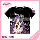 Beautiful Anime Girl lovelive Nozomi Tojo anime t-shirt latest shirt designs for men women