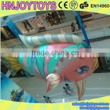 ocean theme party inflatable fish balloon , clity mall advertising led inflatable balloon