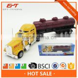 Custom miniature metal toy diecast container truck