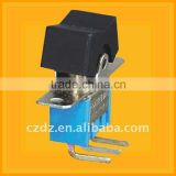 pcb mounting switch,Toggle Switch with UL approval,DPST ON-OFF Toggle Switch