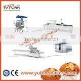 Economic Semi Automatic Custard Cake Making Machine Production Line