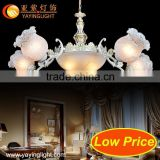 Low price glass lamps, hotel guest room lighting,pendant lamp cord set,plastic pendant lamp