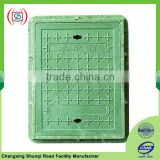 Fiberglass resin foundry manhole cover