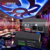 3 Channels DMX-512 Decoder Controller for RGB LED Lamp Light Multi-functional Full-color Controller
