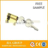 cheapest price interior door brass cylinder and high quality interior lock body cylinder - B-19