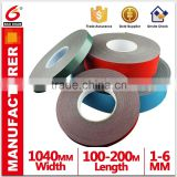 Double side foam tape for fix spacer bar between double glass
