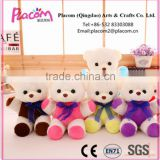 2016 Best selling Fashion lovely Customize Cheap Promotional gifts wholesale Plush toy bear