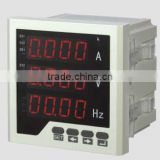 96*96 SINGLE-PHASE THREE ROW AC VOLTAGE FREQUENCY LED DIGITAL COMBINATION METER RH-UIF33