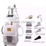 multifunctional ipl beauty machine/opt elight laser hair removal/freckle removal machine