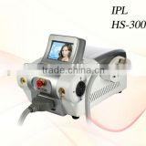 portable IPL hair remover acne scar removal machine alternate of cream HS 300A+ by shanghai med apolo medical technology