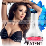2017 Trending Products Personal Care Beauty Breast Heated Bra Massager Rechargeable Silicone Head Breast Enhancer