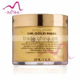 Collagen 24K Gold Facial Mask, pure gold collagen face mask anti-wrinkle & anti-aging