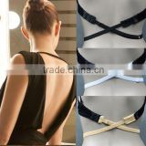 Women Sexy Fashion Forms Low Back Adjustable Bra Strap Converter
