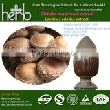 factory producing pure powder shiitake mushroom extract/lentinus edodes mycelium extract ALPHA-GLUCAN 20%