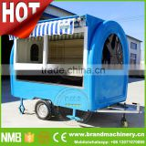 street mobile food kiosk catering trailer, mini mobile food carts for sale, mexican ice cream cart for sale