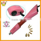 Plastic handle hot fix machine cut rhinestone