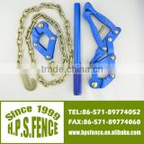 (China manufacturere) Hangzhou High tensile electric fencing wire chain grab puller with 1.2m galvanised chain