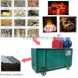 China export charcoal briquette machine from sawdust / rice husk charcoal making machine