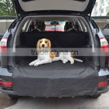 Black color 198*106.7cm Waterproof Oxford fabric Auto dog Car Trunk Mat Back pet Seat Cover