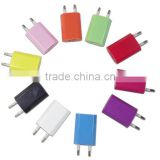 CN EU Plug USB Power Home Wall Charger Adapter for Pod Phone 5 5S 5C 4G 4S 4 3GS,cell phone