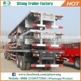Hot-selling inexpensive 20ft 40ft container semi-trailer 40 feet flatbed truck trailer made in china