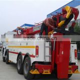 China howo heavy duty rotator tow truck for sale