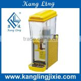 1 tank juice dispenser / juice cooler / dispenser machine