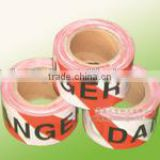 high quality Custom Printed PE hazard warning tape Plastic Barricade Tapes.