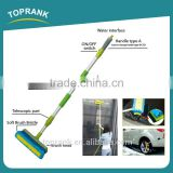 Toprank Multifunctional 180cm Telescopic Car Wash Brush Water Flow Through Car Brush With Soap Foam Dispenser