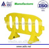 plastic road barriers, road block, water filled fence road barriers