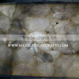 Natural Gemstone Rose Quartz Slabs