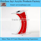 Factory wholesale plexiglass modern design lectern stand