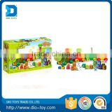 top selling products 2016 70pcs building blocks of number train painting by number train painting by number toys